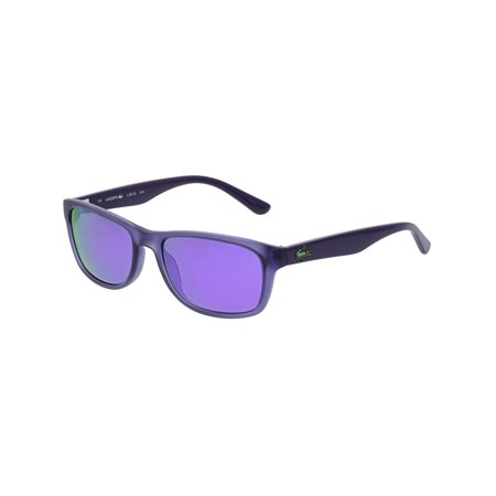 Lacoste L3601S-514-50 Purple Rectangle - 50s Sunglasses