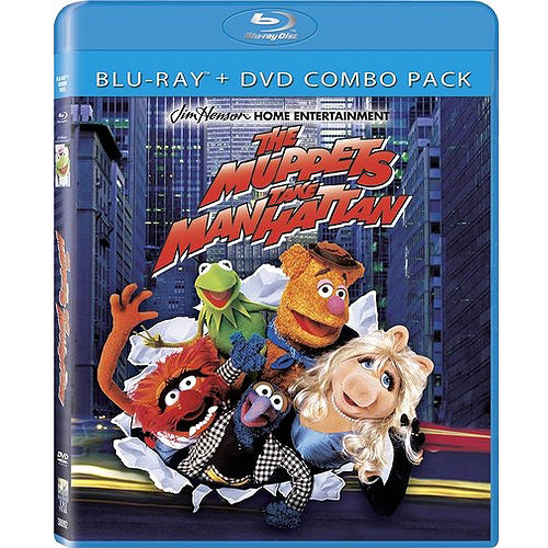 Muppets Take Manhattan (Blu-ray   Standard DVD) (Anamorphic Widescreen)