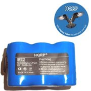 Hqrp 3000mah Extra High Capacity Battery For Euro Pro