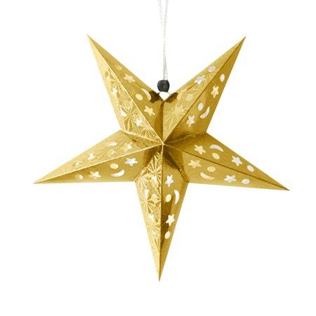 Christmas Tree Star Charm - Mosunx Romantic Xmas String Hanging Charm Star Party Decoration Christmas Tree Ornament