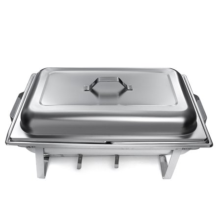 Burners For Chafing Dishes (Buffet Stove Food Warmer, Chafing Dish Tray Caterer Burner Stainless Steel Dinner Party)