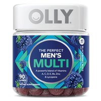 Olly The Perfect Men's Multi Vitamin Gummies with Lycopene, 90 ct