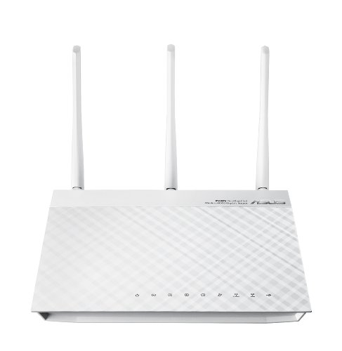 ASUS RT-N66W Dual-Band Wireless-N900 Gigabit Router (White Version) by ASUS
