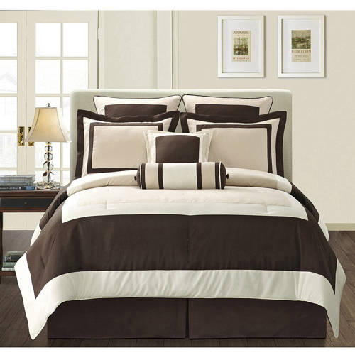 Fashion Street Gramercy 12-Piece Bed in a Bag Bedding Set