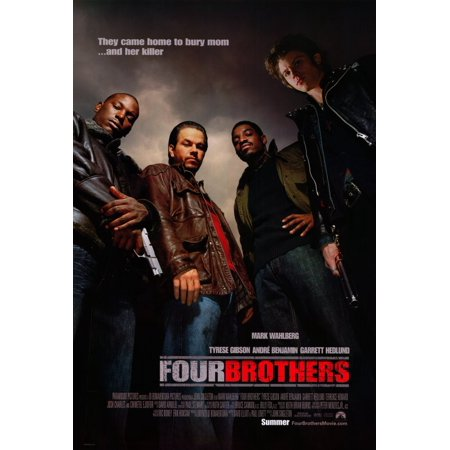 Four Brothers Movie Poster - Four Brothers (2005) 27x40 Movie Poster