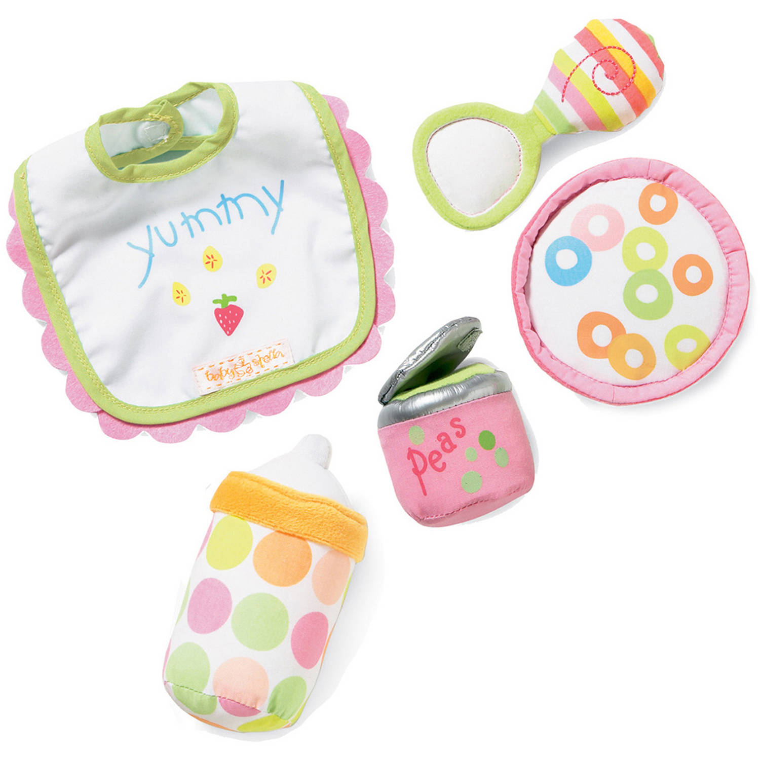 Manhattan Toy Baby Stella, Feeding Set Doll Accessory