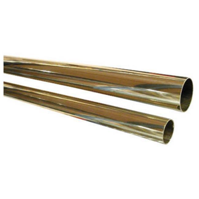 Lavi L00 A110 24 1-. 50 inch Tube 24 inch Length - Polished Brass