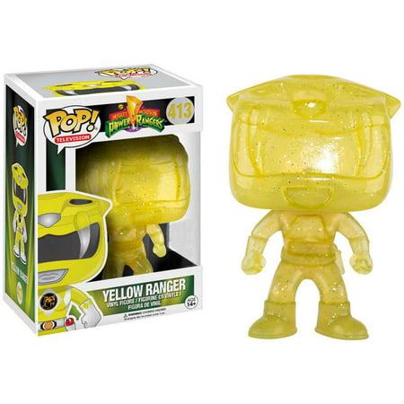 Power Rangers Funko POP! TV Yellow Ranger Vinyl Figure [Morphing] - Morphsuit Power Ranger