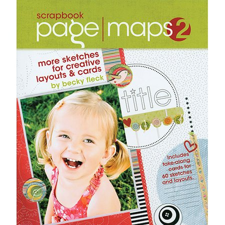 Scrapbook Page Maps: Sketches for Creative Layouts [With Punch-Outs]