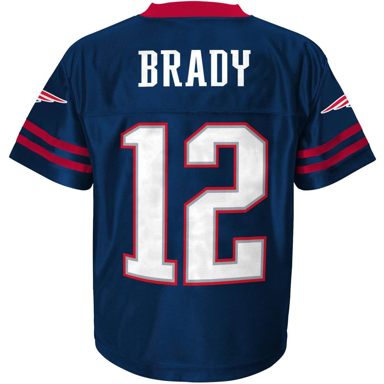 brand new c001c bf2dd Nfl Boys' New England Patriots T Brady P - Walmart.com