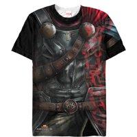 Marvel Thor: Ragnarok Armor Costume Mens Graphic All-Over T Shirt