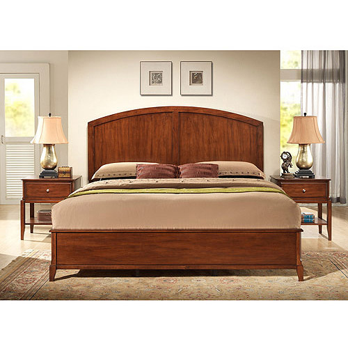 Hudson King Bed, Chestnut