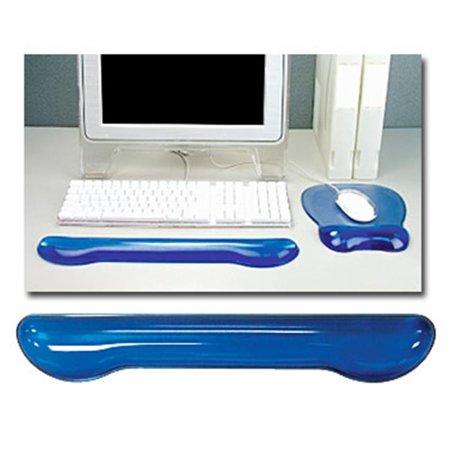 Crystal Gel Keyboard Wrist Rest - Blue Blue Wrist Pillow Keyboard Pad