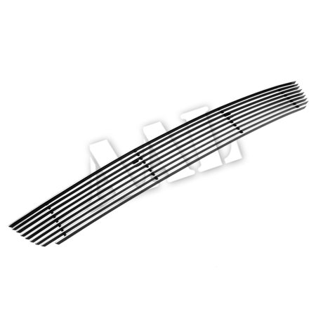 AAL PREMIUM BOLT ON / BOLT OVER BILLET GRILLE / GRILL INSERT For 2013-2014 FORD MUSTANG GT Coupe 1PC BUMPER BOLTON