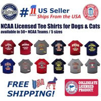 Pets First Collegiate Alabama Crimson Tide Pet Dog T-Shirt in 5 Sizes - Extra Large