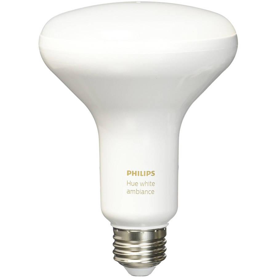 Philips Hue White Ambiance BR30 LED Single Bulb