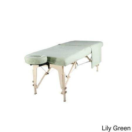 - Master Massage  100% Cotton Flannel 3-piece Sheet Set for Massage Tables (6 colors)