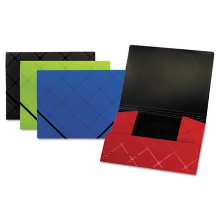 pendaflex 39621 poly tri fold folder letter 44 assorted