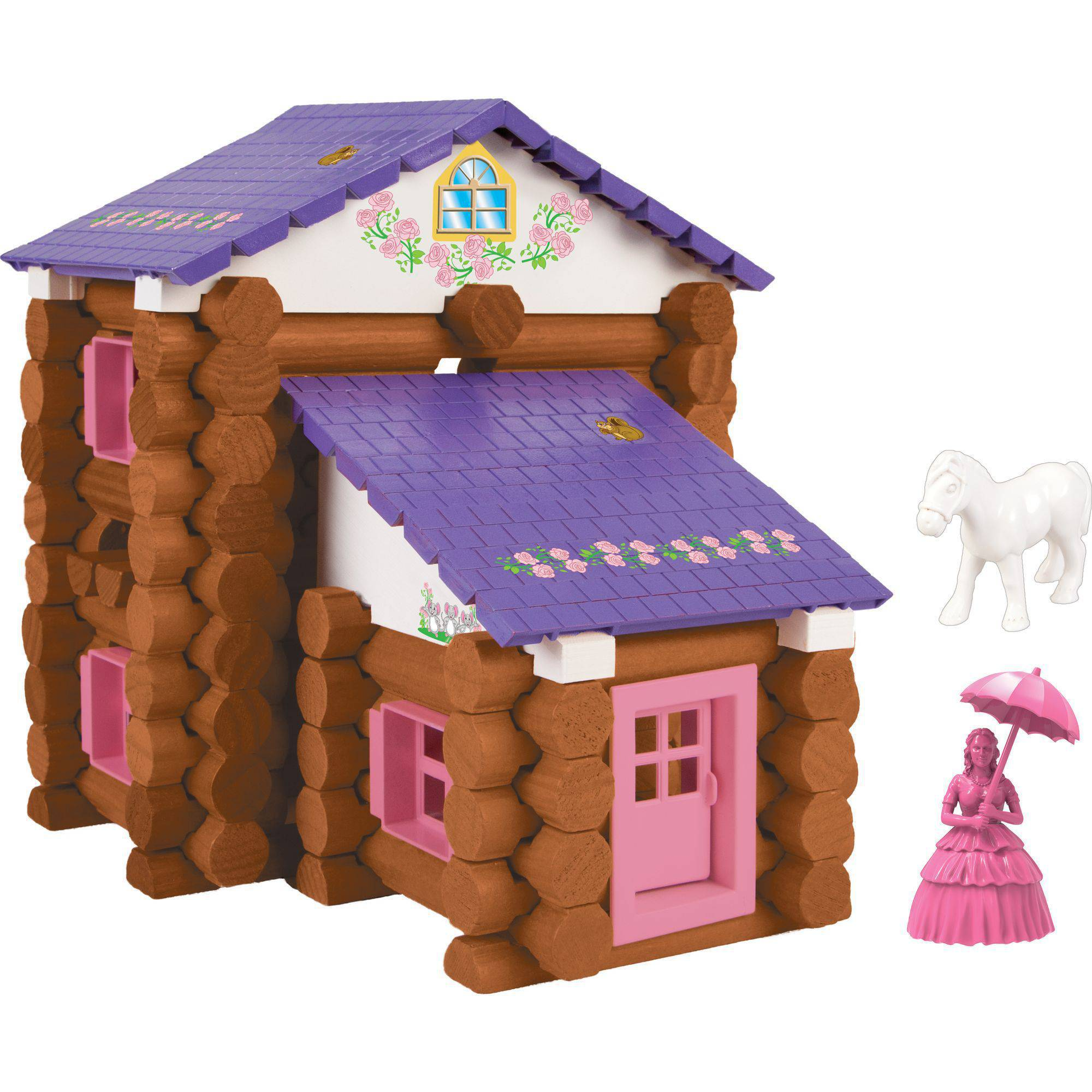 Lincoln Logs Country Meadow Cottage