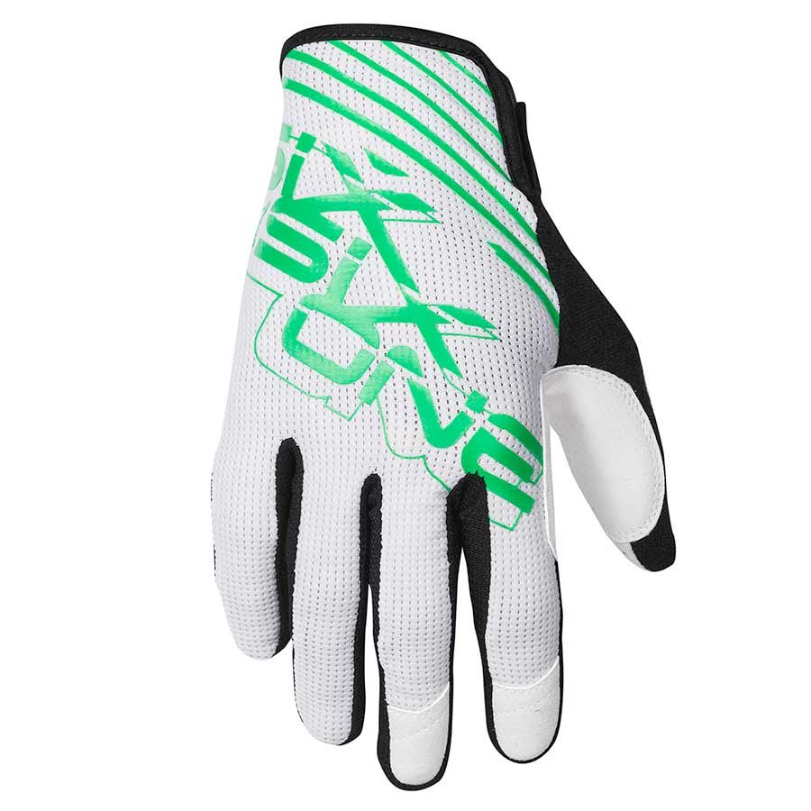 "SixSixOne, Raji Glove White/Green XL (XL = 11"")"