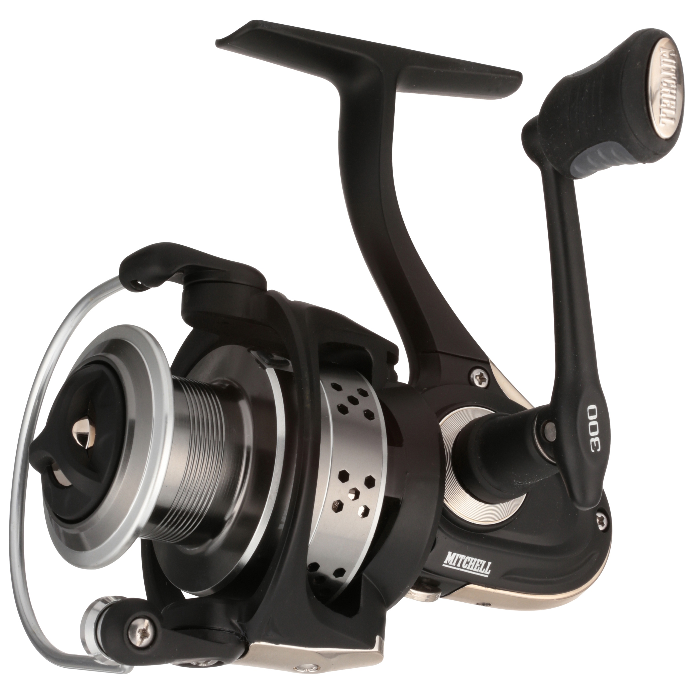 Mitchell 300 Spinning Reel, Clam Packaged by Mitchell
