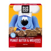 Blue Dog Bakery Peanut Butter & Molasses Healthy Treats for Dogs, 20.0 OZ