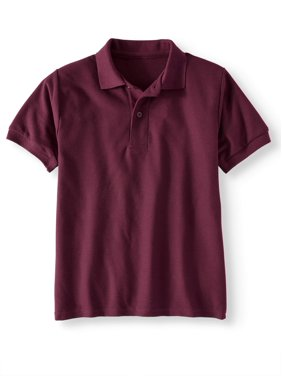 983b1b039 Free shipping. Product Image Jerzees School Uniform Short Sleeve Wrinkle  Resistant Performance Polo Shirt (Little Boys & Big Boys