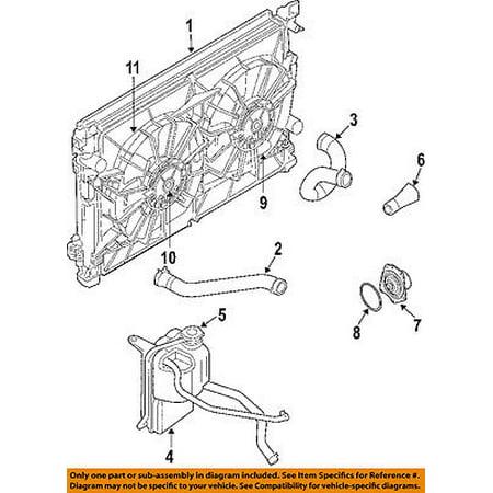 Chrysler Oem Engine Coolant Thermostat Housing 4792923aa Walmart Com