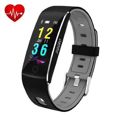 Fitness Tracker Diggro F10 Smart Bracelet With Heart Rate Ip67 Waterproof Bluetooth 4 0 Sports Pedometer