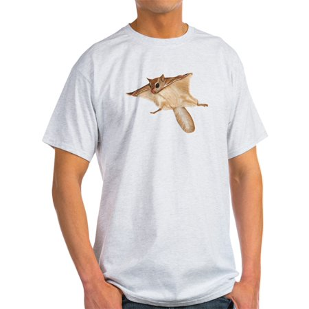 CafePress - Flying Squirrel T-Shirt - Light T-Shirt - CP