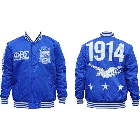 Phi Beta Sigma Divine 9 Lightweight Mens Jacket  Royal Blue   L