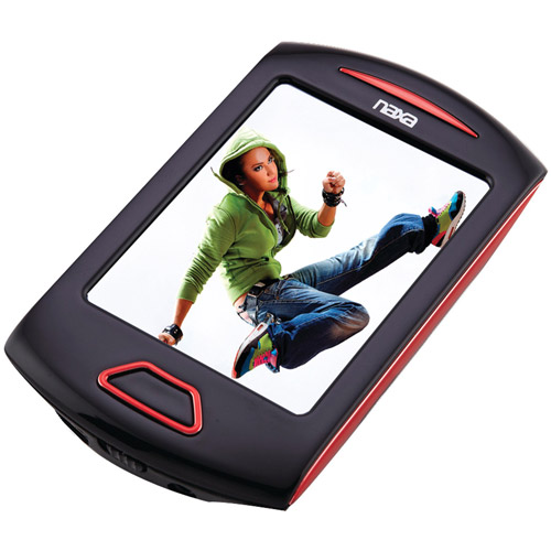 "Naxa 4GB 2.8"" Touch Display Portable Media Player"