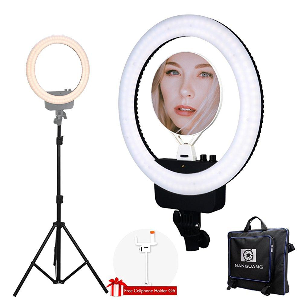 Nanguang Led Ring Light 16 Bi Color Dimmable Ring Light With Stand