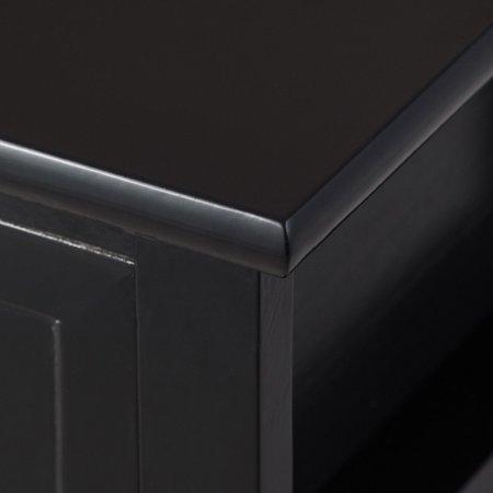 Costway 2PCS End Table Nightstand Bedside Drawer Storage W/ Bottom Shelf - image 4 de 8