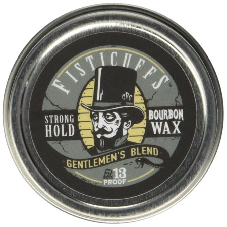 Fisticuffs Strong Hold Mustache Wax Gentlemen's Blend 1 OZ. (Best Mustache Wax For Hold)