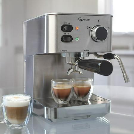 Capresso 118 ec pro professional espresso amp cappuccino machine capresso 118 ec pro professional espresso amp cappuccino machine fandeluxe Images