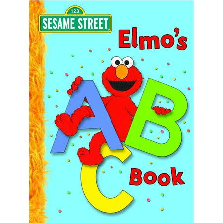 Elmo's ABC Book (Sesame Street) (Board Book)