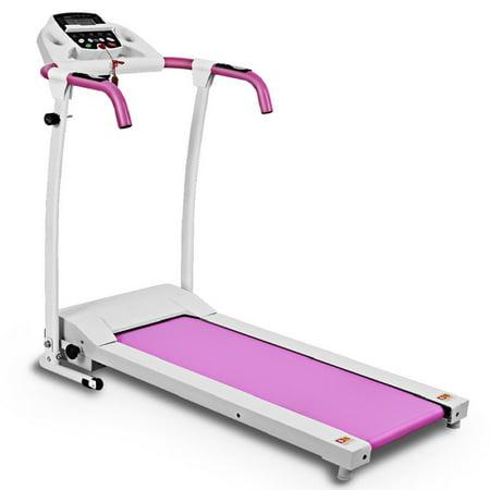 Costway 800W Folding Treadmill Electric /Support Motorized Power Running Fitness Machine
