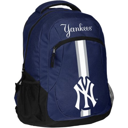 Forever Collectibles MLB New York Yankees Action Stripe Logo Backpack