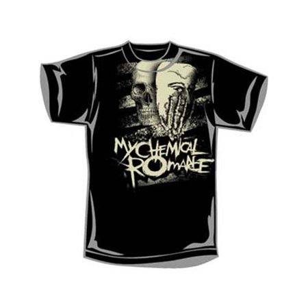 My Chemical Romance Men's  Skeletonhand T-shirt Black](My Chemical Romance Halloween 2017)