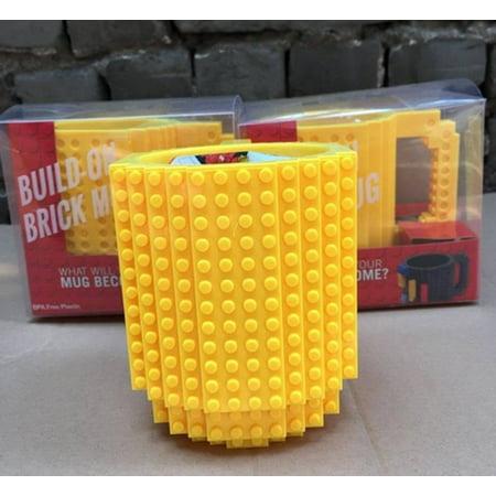 DIY Creative Lego Brick Building Mug Assemble Puzzle Blocks Gift Cup (9 Colors) - image 5 of 12