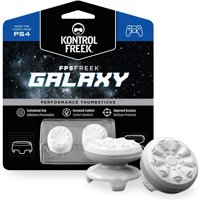 KontrolFreek, Galaxy Thumbsticks, PlayStation 4, White, 2807-PS4 W/W