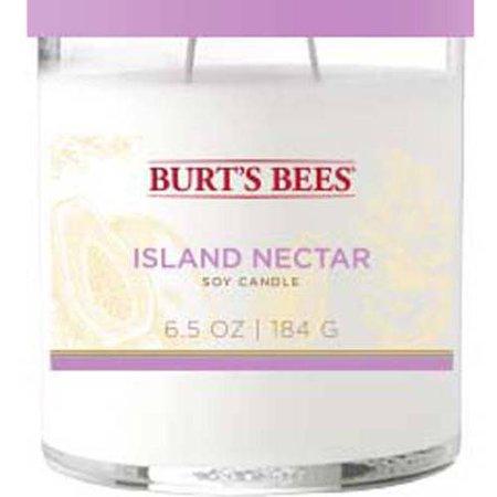 wholesale dealer ff43b e7c84 Burt s Bees 6.5 oz Island Nectar Candle - Walmart.com