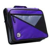Universal Laptop Zipper Binder, O-Ring, 2 in. - Purple