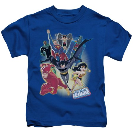 Justice League Unlimited Little Boys Shirt (Justice Boys)