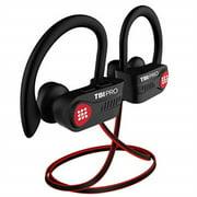 [upgraded 2020] bluetooth headphones w/10  hours battery - lightweight, ipx7 waterproof - best wireless sport earphones w/mic - in-ear earbuds powerbeats style for gym running workout for men, women