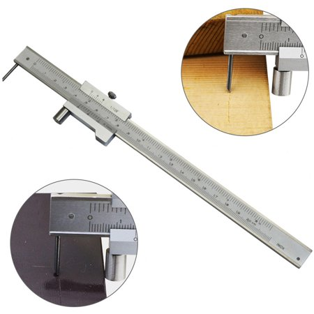 200mm Measure Scale Ruler 0.05mm Accurate Parallel Line Digital Vernier Caliper Carbon steel+Stainless Steel for Iron Wood Color:Silver - image 6 of 8
