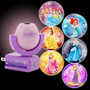 Projectables Disney Princesses 6-Image Plug-In LED Night Light, Light Sensing, 11738