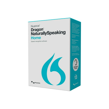 Ipod Mp4 Software - Dragon NaturallySpeaking Home - (v. 13) - box pack - 1 user - Consignment - DVD - Win - English