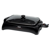 De'Longhi Healthy Indoor Grill with Die-Cast Aluminum Non-Stick Cooking Surface